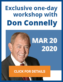A one-day workshop with Don Connelly on March 20, 2020
