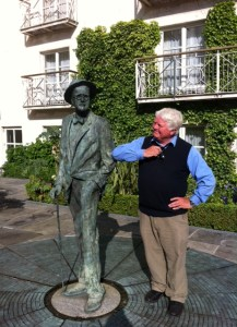 Don and James Joyce at the Merrion Hotel