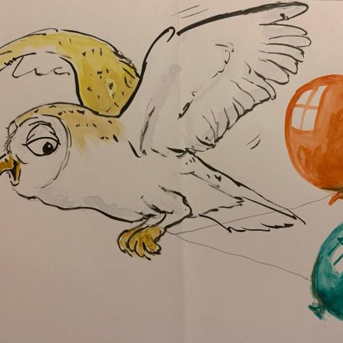 Birthday Barn Owl