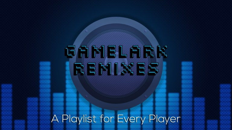 banner for GameLark Remixes, graphic Design, facebook, twitter, youtube,