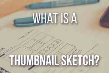 What Is A Thumbnail Sketch and How Can it Help You by Don Corgi