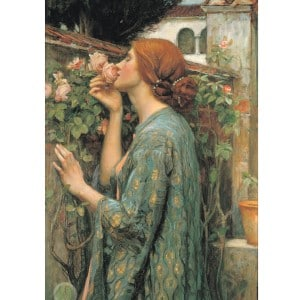 Gather Art from Artists you like! - The Soul of the Rose or My Sweet Rose 1908 - John William Waterhouse
