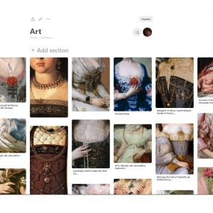 Use a Pinterest Board to gather reference images and get inspired to develop new ideas