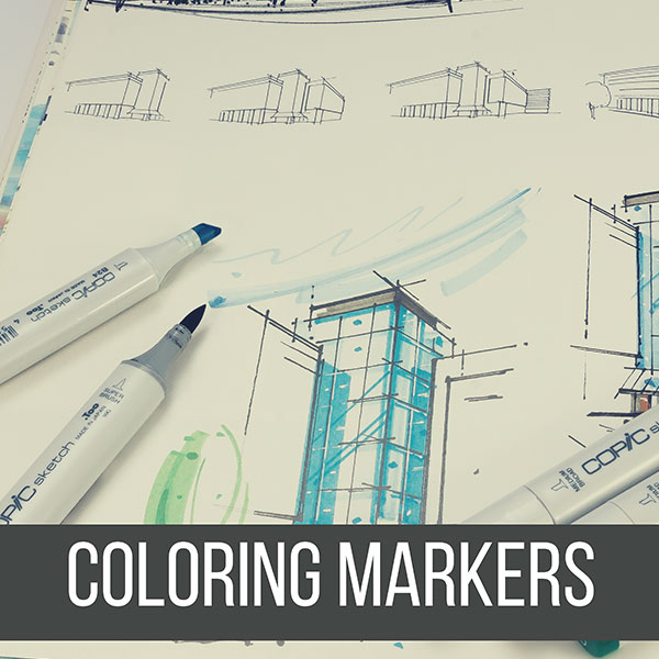 Recommended Coloring Markers for Painting your Drawings! Here are the best ones for Artists. by Don Corgi