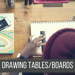 Recommended Drawing Tables and Drawing Boards for your Drawings, Calligraphy and More! by Don Corgi