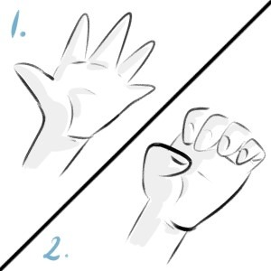The Claw! Super easy to do hand stretching exercise to prevent wrist pain.