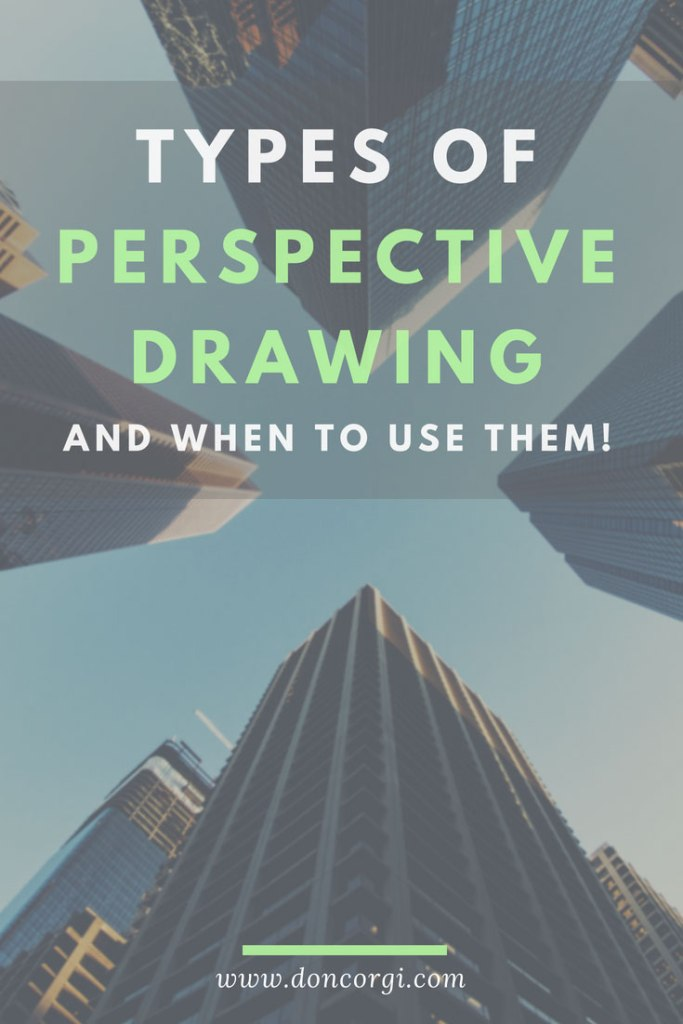Types Of Perspective Drawing and When to Use them! by Don Corgi