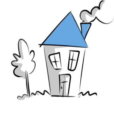 Draw a House! This is a very simple drawing idea for preschoolers and it works wonders! Here are a few more.