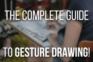 Complete Guide to Gesture Drawing, Learn to practice Gesture Drawing and really improve your character design skills step by step!