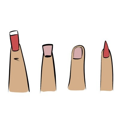 There are many ways to draw fingernails, here are a few!