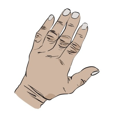 There are a few things you need to know about drawing old hands, here they are.