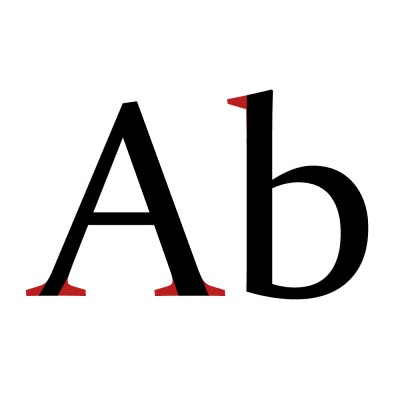 Example of what is a serif in a serif font! Here's a list of free fonts for commercial use.