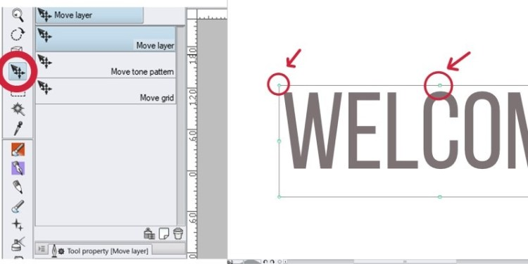 Moving text in clip studio paint is pretty easy, here's how you do it.