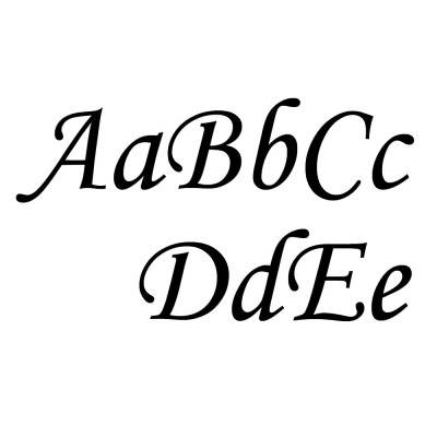 Here's an example of what a script font looks like! Find the best free fonts for commercial use here!
