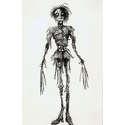 Tim Burton's Art is very unique as you can see!