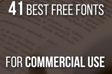 41 Best Free Fonts For Commercial Use For Artists And Designers - Including examples of how the fonts look!