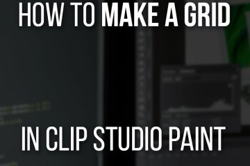 How To Make A Grid In Clip Studio Paint - Simple And Easy Guide on CSP / Manga Studio 5 EX
