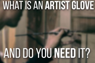 What Is An Artist Glove And Do You Need One? A great tool to prevent a mess in your drawing!