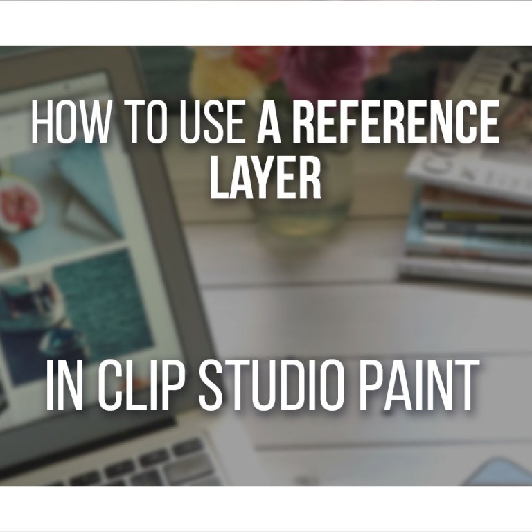 Work Faster Using A Reference Window In Clip Studio Paint - Step by Step!