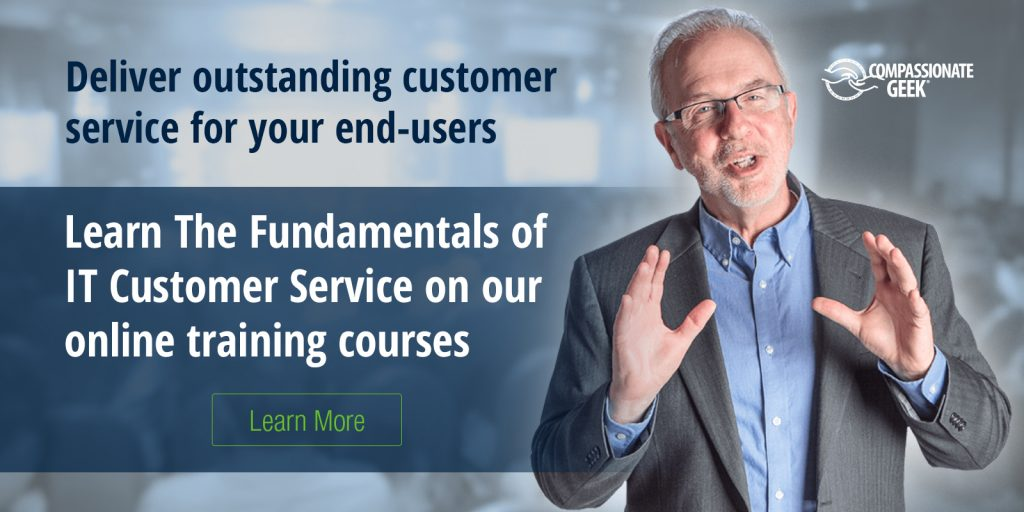 Compassionate Geek Online Customer Service Training