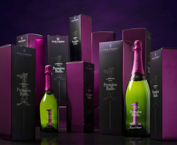 Bubbling over. About the world's first sparkling wine.