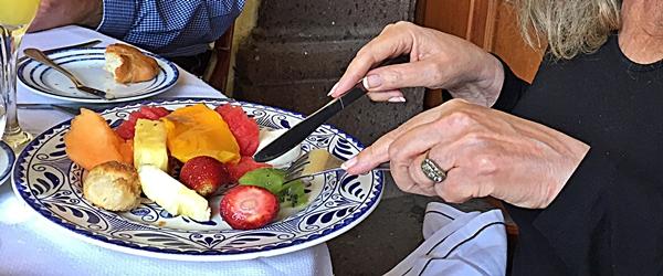 hacienda fruit plate