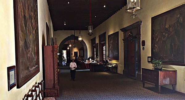 hacienda hallway