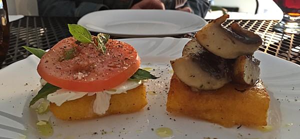 los olivos polenta plated