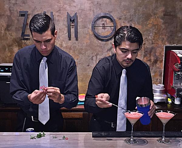 zumo cocktails