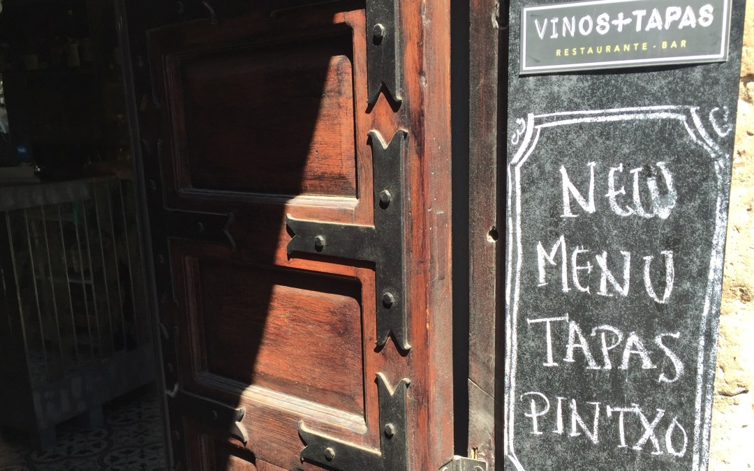 New Vinos+Tapas menu makes a grand entrance.