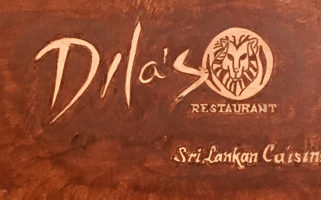Dila's. Serious Sri Lankan in San Miguel.