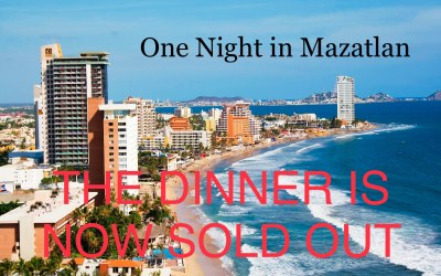 You are invited to a special seafood dinner paired with wines.