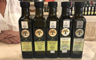 Where you'll find good local olive oil in San Miguel.