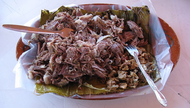 If Don Day's Wife won't come to the barbacoa, let the barbacoa come…