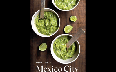 New book celebrates the cuisine of Mexico City.