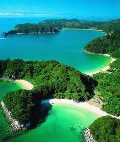 Parque Nacional Abel Tasman, Nueva Zelanda. OCEANIA
