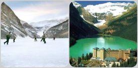 Louise Lake en Alberta -Canada- AMERICA