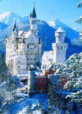 Castillo de Neuschwanstein en Alemania. EUROPA