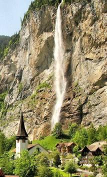 Staubbachfall, Suiza. EUROPA