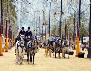 Feria del Caballo en Jerez de la Frontera , Cádiz