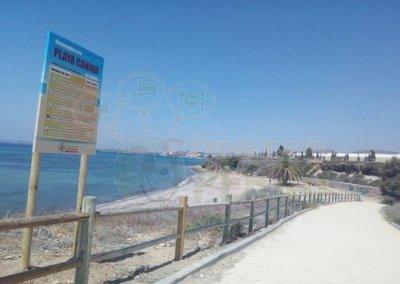 Playa La Calera, Cartagena