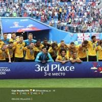 🏆 🏆 Inglaterra vs Bélgica 2018 ⚽ ⚽