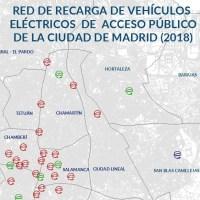 Puntos recarga coche electrico Madrid
