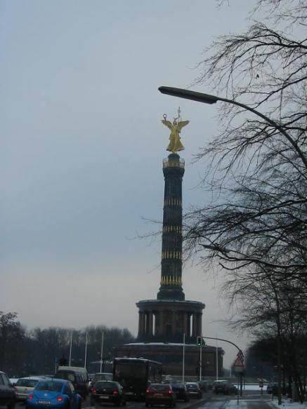 Berlin - columna de la victoria