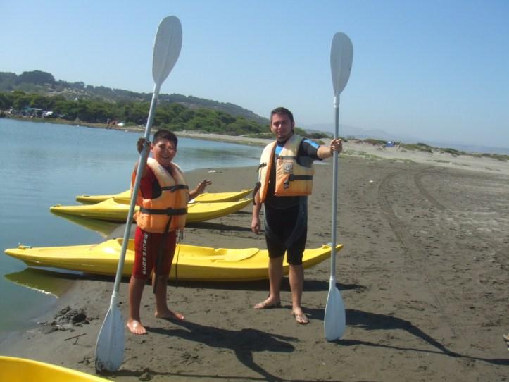 felipe y yo kayak