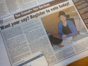 Want your say Register to Vote today! | The Donegal ...