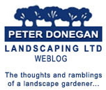 peter donegan landscaping weblog writing