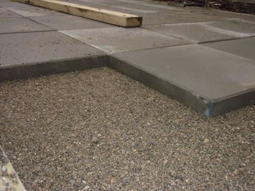 patio slab laying