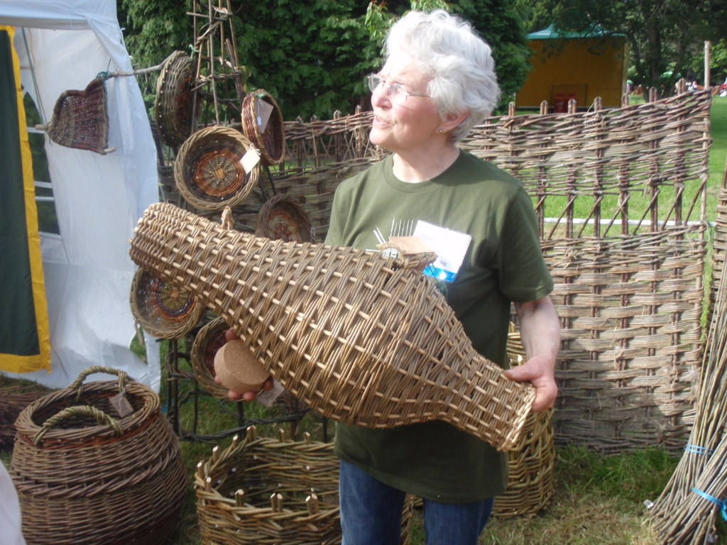 Basket Weaving Association : The bloom in park experience peter donegan