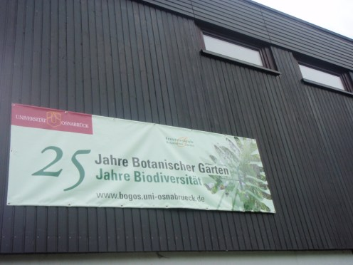 osnabruck university and botanical gardens 25 years old